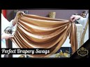 Perfect Drapery Swags - Luxurious and Elegant Window Dressings | Galaxy Design Video 154