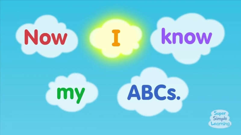The Super Simple Alphabet Song (Uppercase) _ Super Simple ABCs