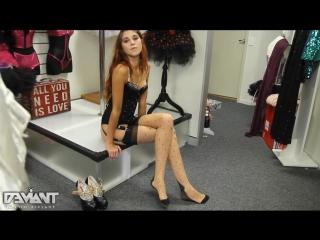 Sexy Teen Hot Slut Stockings AssTits Legs Hig Heels Lingirie Молодая Секси Девушка в Чулках Голая Гуляет по Улице Попка Сиськи