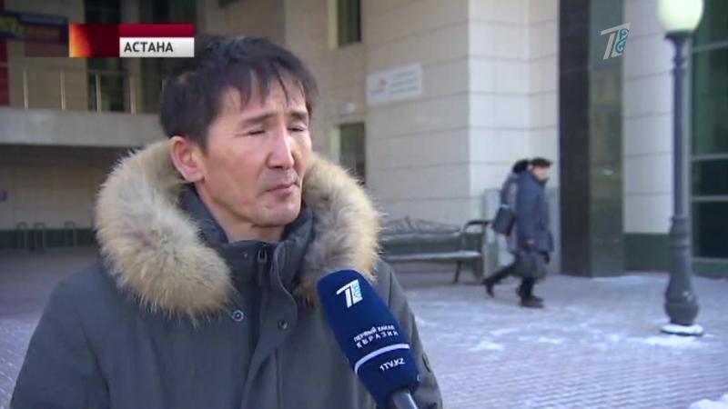 Астанада атышулы Абу Даби кешені құрылысшыларының наразылығы жалғасты