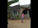 Африканка против дрона