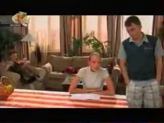 Алёна и Гоша из сериала Рыжая