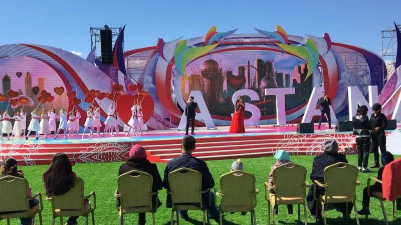 Генеральная репетиция к 1 мая г.Астана