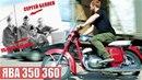 Мотоцикл Ява 350 360 Восстановлен мотоателье Ретроцикл