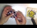 Цветок канзаши Многослойный лепесток Терморезка