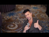 Ricky Martin about Puerto Rico and #CityHarvestBID