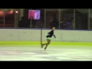 Kaunas Ice Winter Cup 2018 Advanced Novice Girls ПП 10 Yuliya ZHYHALSKAYA BLR