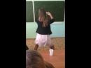 Школьница танцует тверкШКОЛОПАБШКП