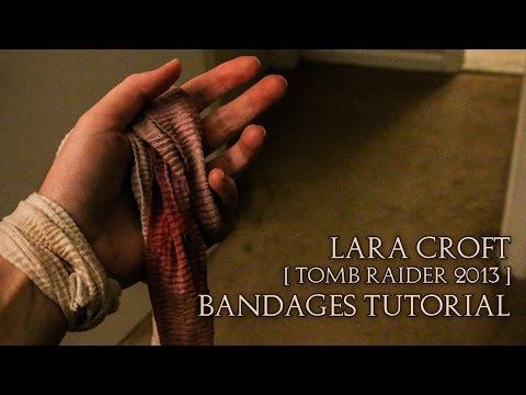 Lara Croft   Tomb Raider 2013   Bandages Tutorial