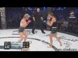 Хизер Харди vs. Кристина Вильямс.Bellator 185
