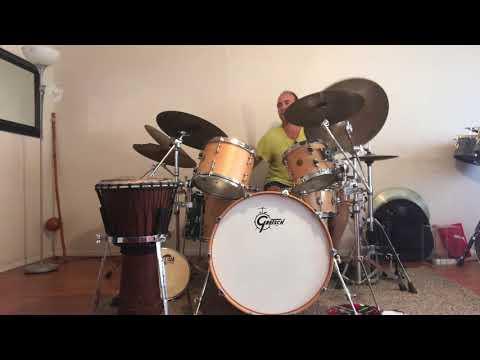 Fusion Rock Funk Drumming!