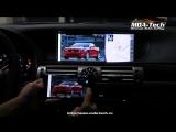 Подключение мобильного на Lexus LS 2013-2017