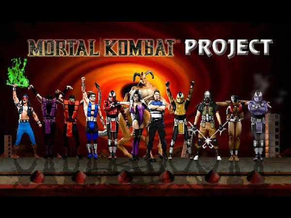 M.U.G.E.N Mortal Kombat Project 2.9 (PC) - Characters gameplay - Part 3