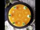 Апельсиновый торт-мусс
