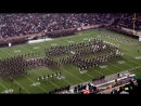 Fightin Texas Aggie Band Halftime Drill Missouri Game at Kyle Field on Novemb