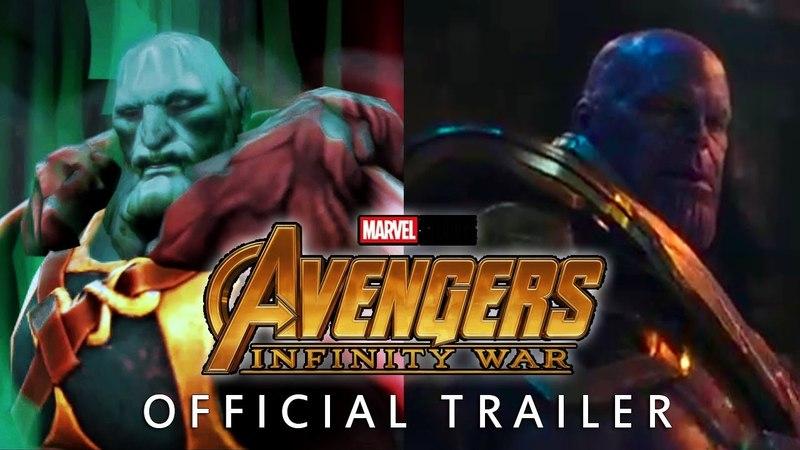 DOTA2 - Avengers: Infinity War Official Trailer