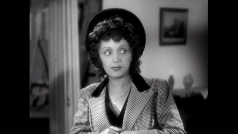 Édith Piaf Le Chant du Pirate Поёт Эдит Пиаф Песня с Х Ф Звезда без света Etoile sans lumiere 1946 Фрагмент фильма
