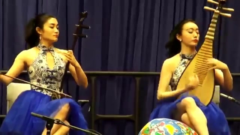 Chinese instruments show