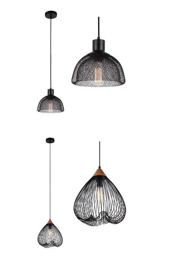 Коллекция подвесных светильников ретро-дизайна, серия Vintage