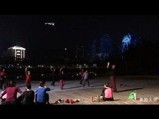 Тайцзицюань и танцы в Китае
