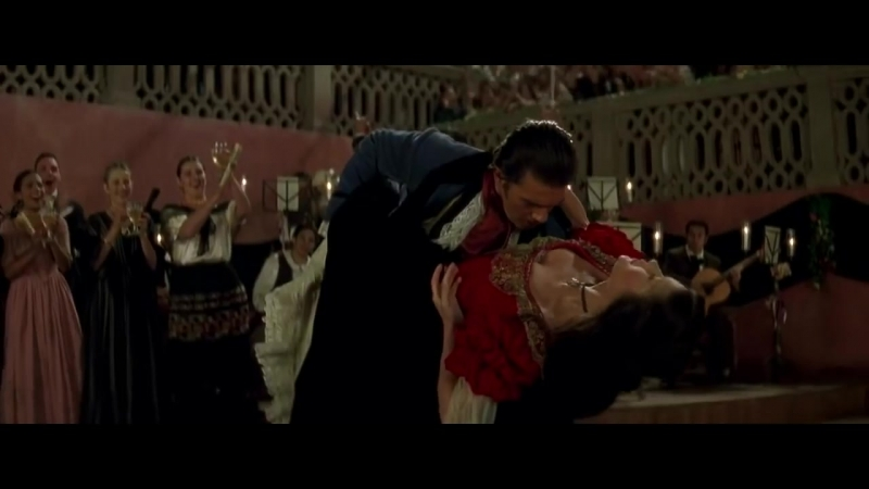 Catherine Zeta Jones Antonio Banderas - Paso Doble Spanish Tango (OST The Mask of Zorro, 1998)