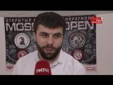 Интервью с участниками турнира Moscow Open 2018