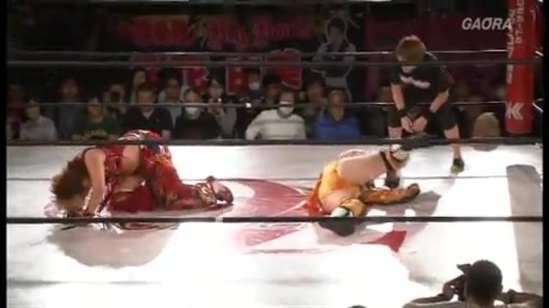 6. Sonoko Kato (c) vs. Hiroyo Matsumoto (4/24/16)