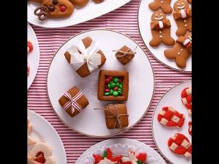 7 креативных идей для выпечки идеального новогоднего печенья! / наша группа: Декорирование тортов