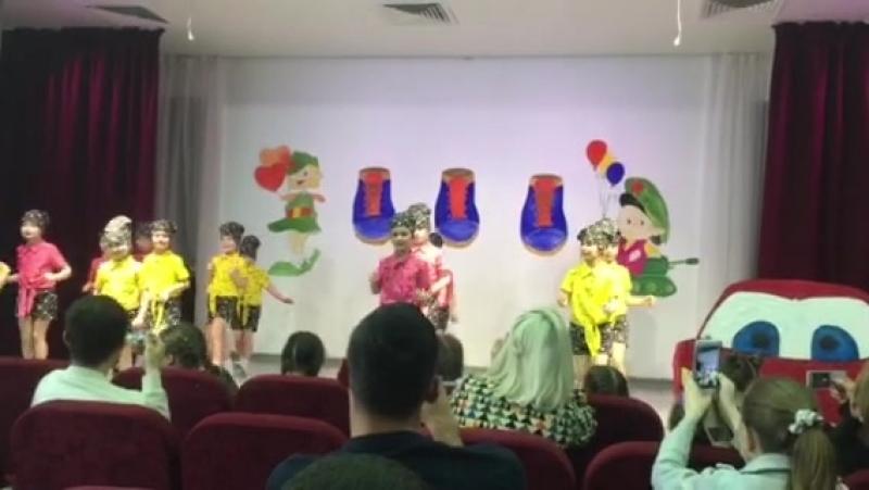 супер танец наших детей.