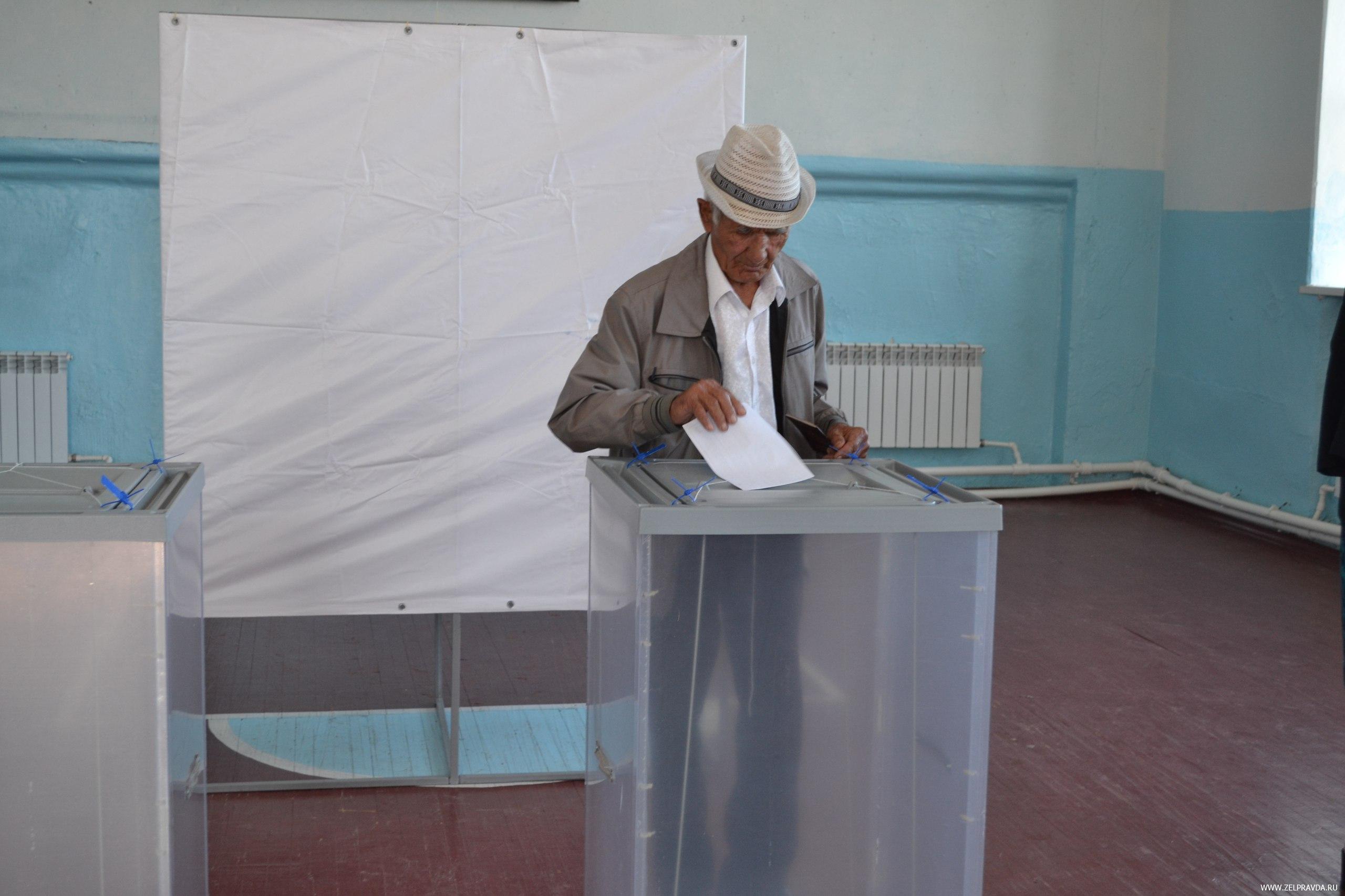 В Зеленчукском районе закрылись избирательные участки