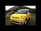 Краткий обзор Toyota Sienta 2WD 2013 года из Японии. г. Новосибирск