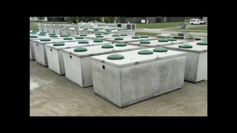 Септический резервуар Из чего это сделано