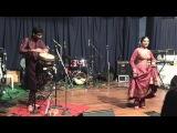 Djembe kathak Aditi Bhagwat, Gautam Sharma and Atul Phadke on the Harmonium