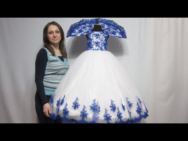 Новогоднее Платье - Снежная Королева! Это что то невероятное VIP