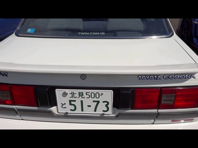 TOYOTA CORONA GT-R ST160 トヨタ コロナ