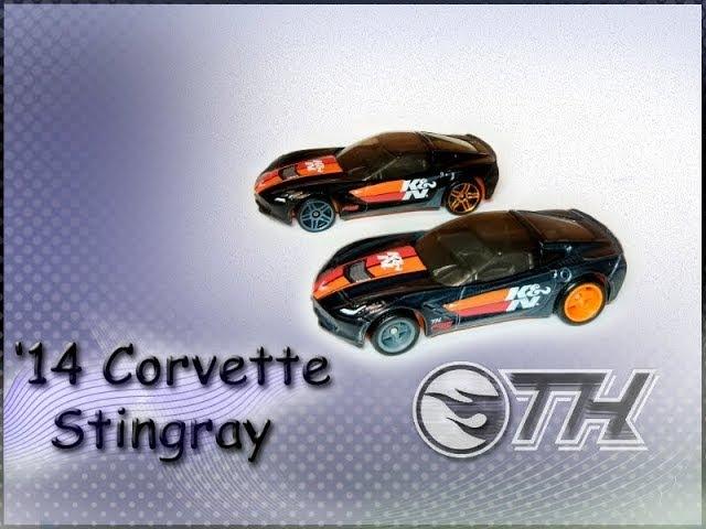 '14 Corvette Stingray / 2016 / СТХ / STH / Hot Wheels