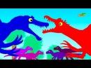 Добрые Мультики про Динозавров - Веселые Динозаврики Динозавры мультфильмы для детей