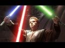 Star Wars Yoda , Anakin Skywalker , Obi Wan Kenobi vs Count Dooku