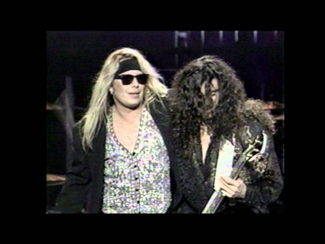 Vince Neil - You Are Invited (But Your Friend Can´t Come) - Live @ MTV Movie Awards - 1992