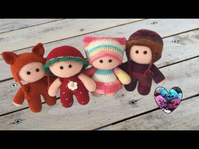 Amigurumi Poupons YOYO crochet 1/2 / YOYO mini dolls crochet amigurumi (english subtitles)