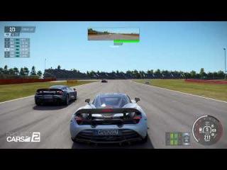 Геймплей Project CARS 2 на GeForce GTX 10