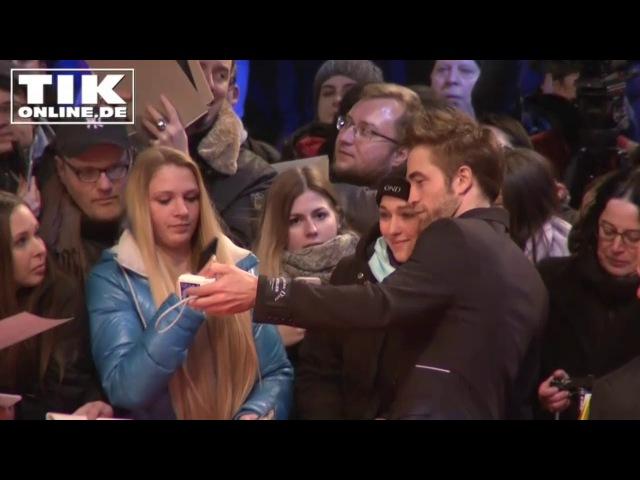 """Robert Pattinson """"badet in seinen Fans"""