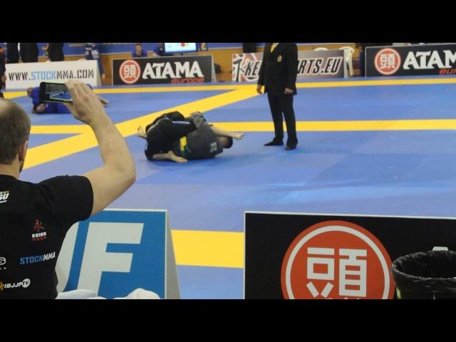 European Open BJJ 2014 Blue belt Adult Medium Heavy 88,3 1 4 Final MAGOMET MATIEV Adam Hussain