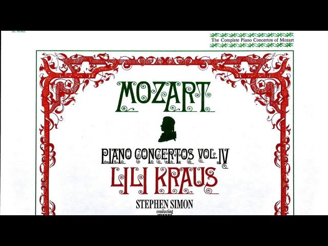 Mozart - Piano Concertos №9,15,16,1,2,3,4,5,6,8 (Century's recording:Lili Kraus/Simon)