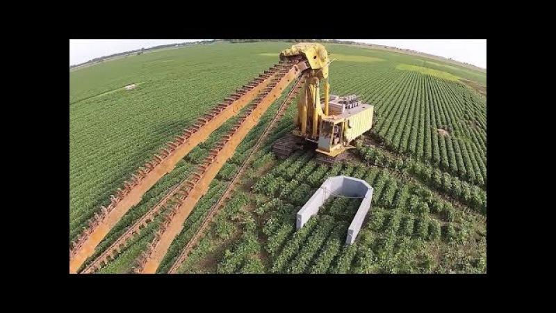 Hug Mega Machines!!...This Is Engineering Making Largest Drainage Machinery