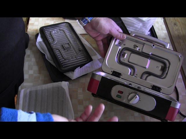 Многофункциональный электрогриль GFgril GF 040 Waffle Grill Toast достоинства и недостатки