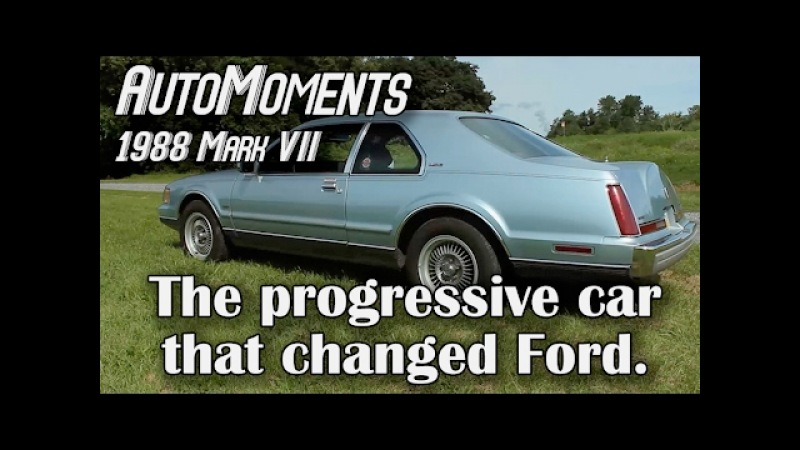 1988 Lincoln Mark VII LSC - The Progressive Car that Changed Ford | AutoMoments