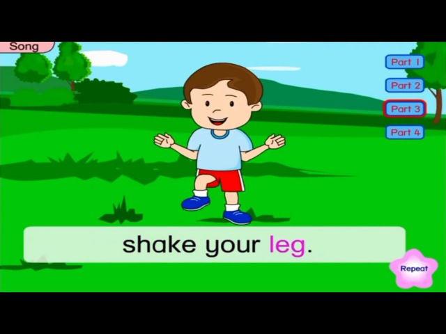 Simple English Warm Up Songs For Kids - Best English Songs For Kids