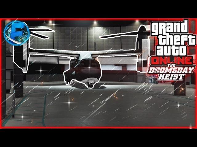 GTA ONLINE: Судный день - AVENGER! (Ограбление) 5
