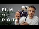 FILM vs DIGITAL! Olympus mju ii Stylus Epic Kodak Portra 400 - vs - Fujifilm X100T VSCO